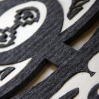 Bee Totem - Merino wool (2m x 600cm)